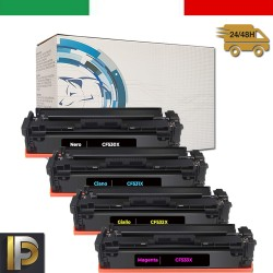 Toner Hp CF530X-3X  Nero Compatibile