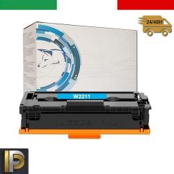 Toner HP W2211A Ciano NO CHIP Compatibile