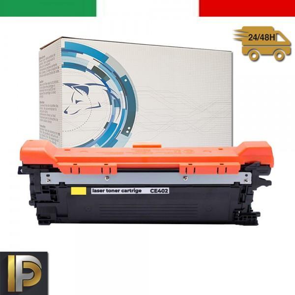 Toner Hp Laserjet  CE402A Giallo Compatibile