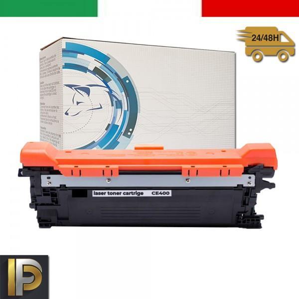 Toner Hp Laserjet  CE400X  Nero Compatibile
