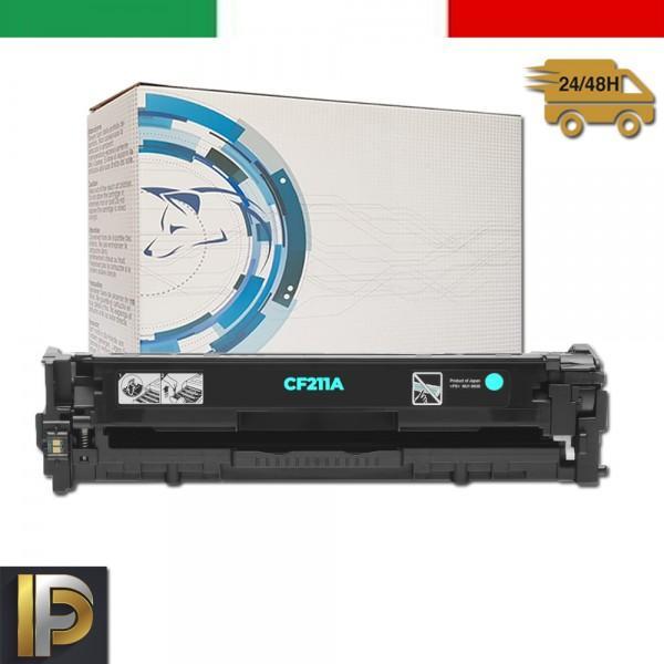 Toner Hp Laserjet Pro CF211A Ciano Compatibile