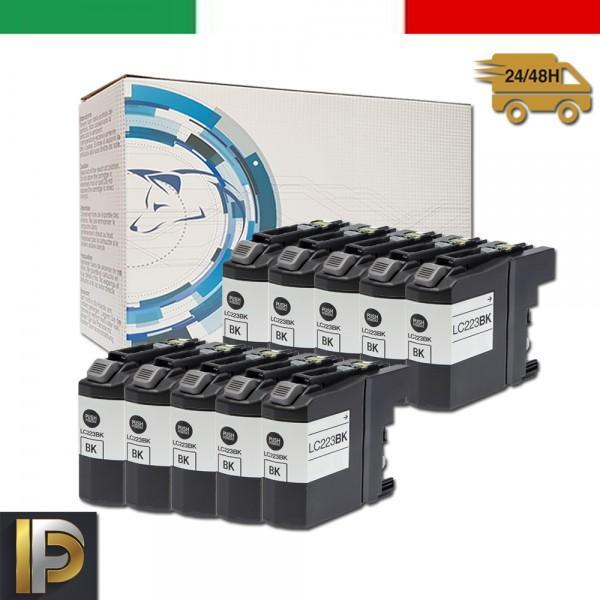 Cartuccia Brother MFC  LC-223-BK-10  Compatibili