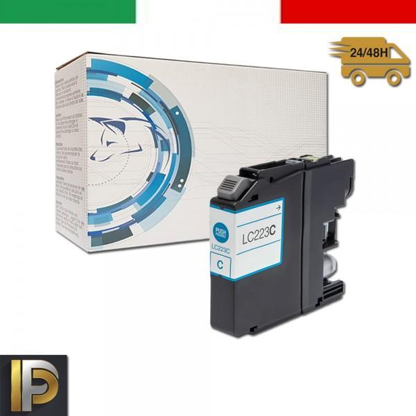 Cartuccia Brother MFC  LC-223-C Ciano Compatibile