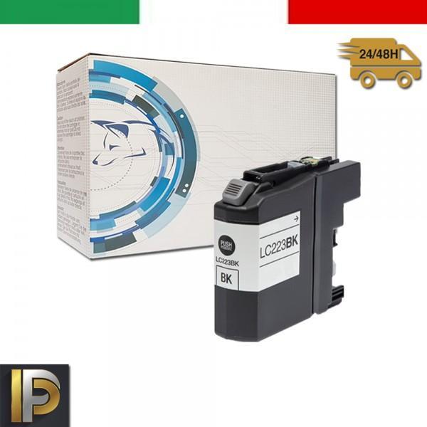Cartuccia Brother MFC  LC-223-BK  Nero Compatibile