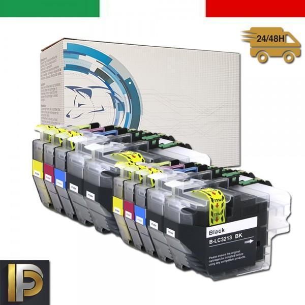Cartuccia Brother MFC  LC-3213-KIT10  Compatibili