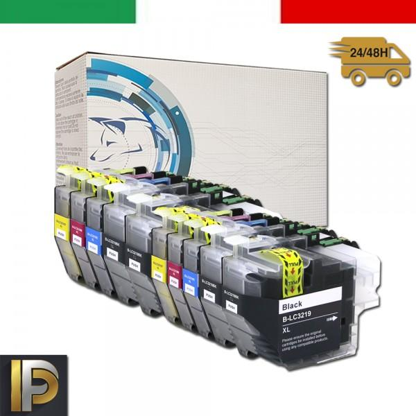 Cartuccia Brother MFC  LC-3219-KIT10  Nero Compatibile