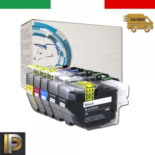 Cartuccia Brother MFC  LC-3219-KIT5  Nero Compatibile