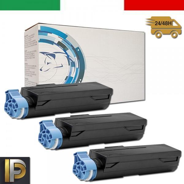 3 Toner OKI  B432   Nero Compatibile