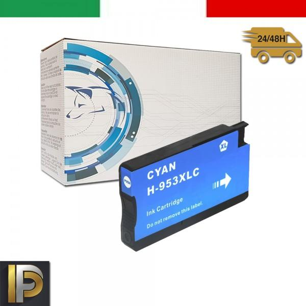 Cartucce HP HP Officejet Pro HP-953XL-C Ciano Compatibile