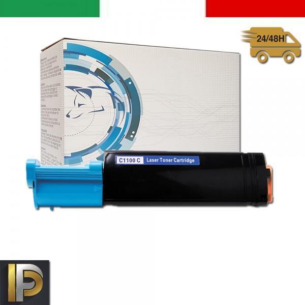 Toner Epson Aculaser  C1100-C-EPS Ciano Compatibile