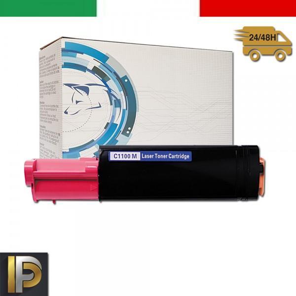 Toner Epson Aculaser  C1100-M-EPS Magenta Compatibile