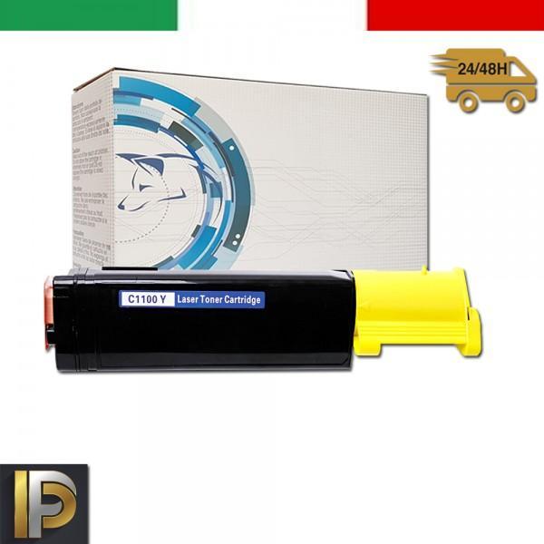 Toner Epson Aculaser  C1100-Y-EPS Giallo Compatibile