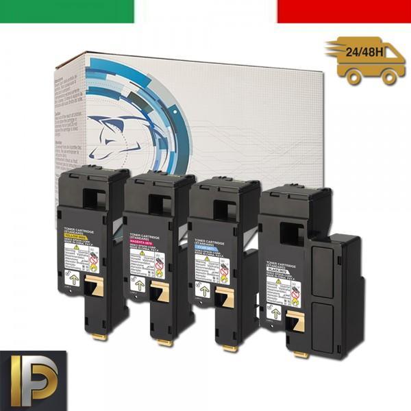 4 Toner Epson Aculaser  C1700   Compatibili
