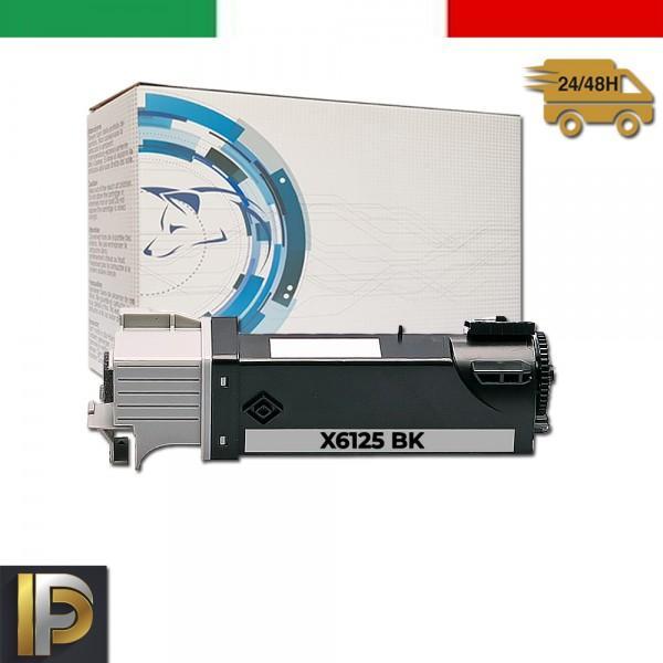Toner Xerox Phaser X6125-BK  Nero Compatibile