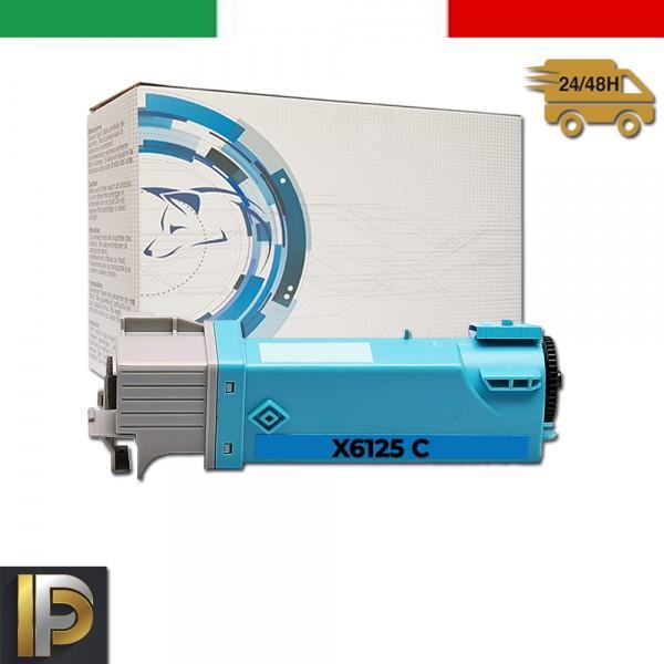 Toner Xerox Phaser X6125-C Ciano Compatibile