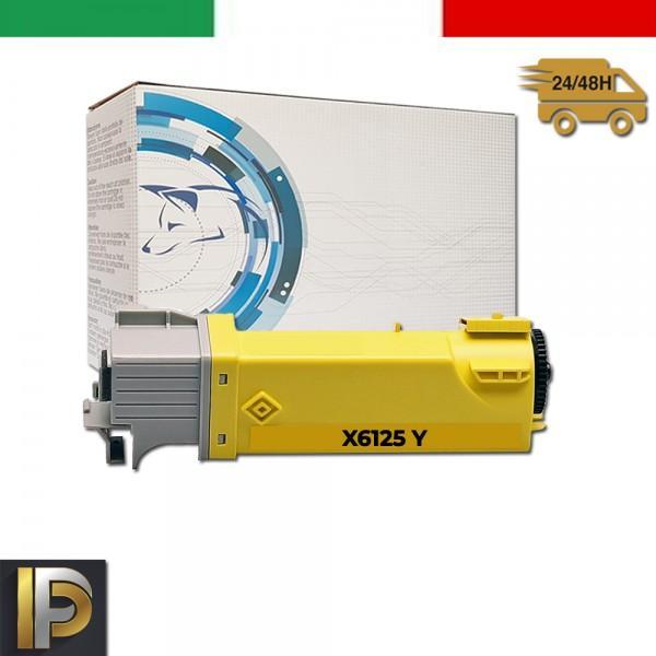 Toner Xerox Phaser X6125-Y Giallo Compatibile