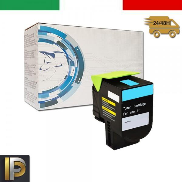 Toner Lexmark  CX310-410-510-C Ciano Compatibile