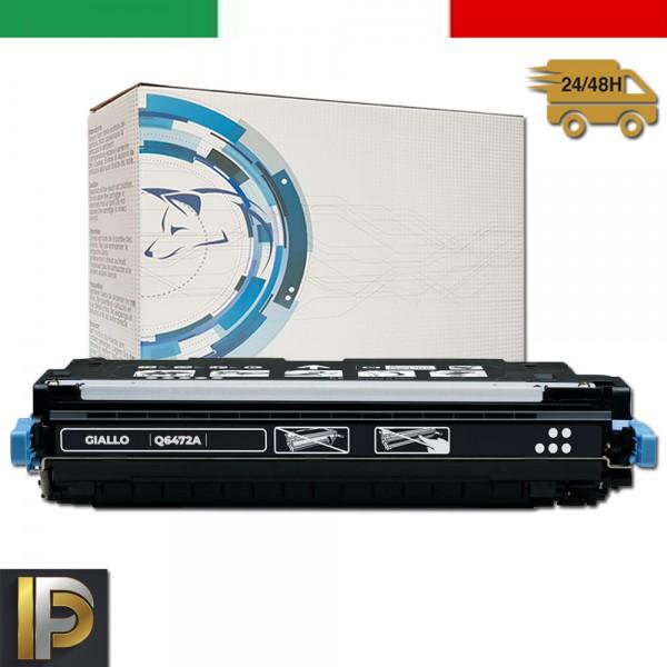 Toner Hp Laserjet Color Q6472A Giallo Compatibile