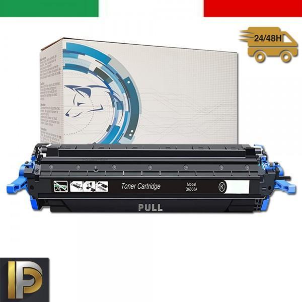 Toner Hp Laserjet Color Q6000A  Nero Compatibile