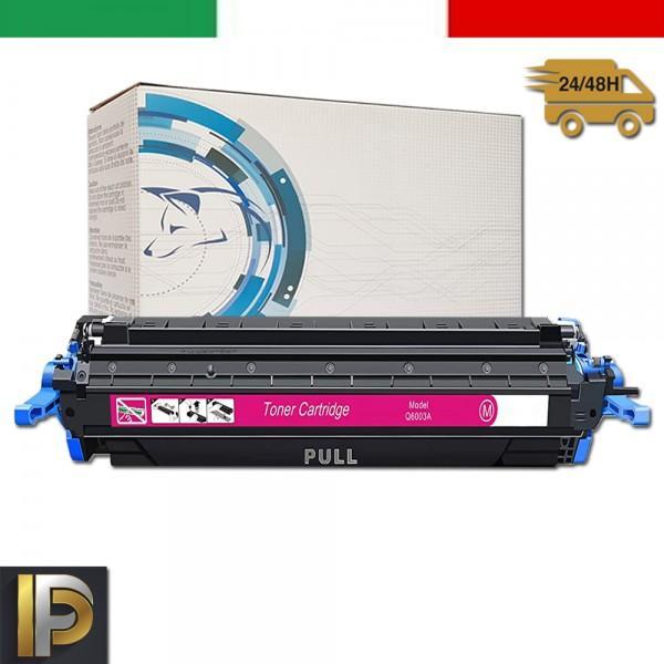 Toner Hp Laserjet  Q6003A Magenta Compatibile