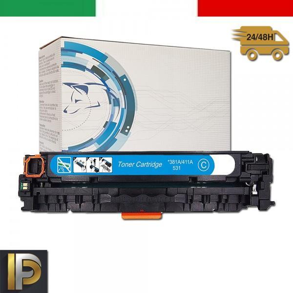 Toner Hp Laserjet Enterpise CE411A Ciano Compatibile