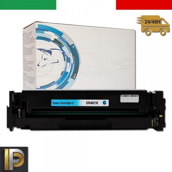 Toner Hp Laserjet Pro CF401X Ciano Compatibile