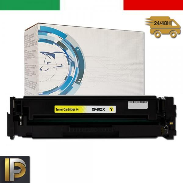 Toner Hp Laserjet Pro CF402X Giallo Compatibile
