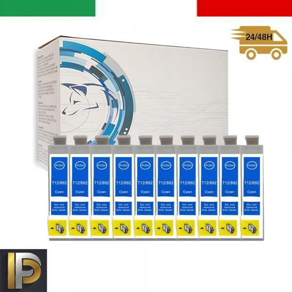 Cartuccia Epson  T0712-10 Ciano Compatibile