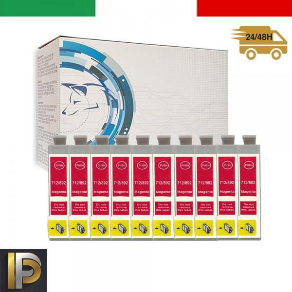 Cartuccia Epson  T0713-10 Magenta Compatibile