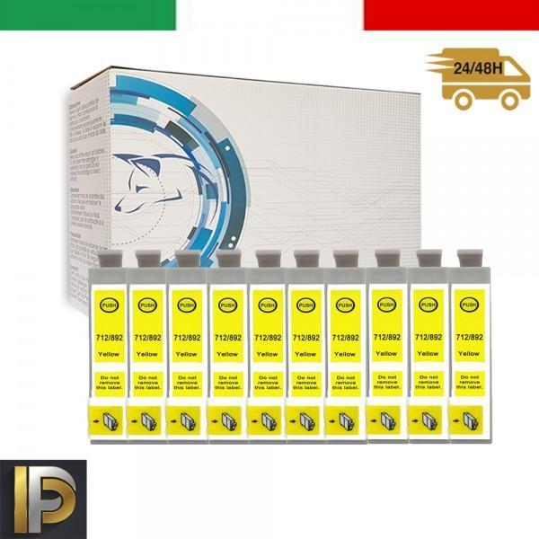 Cartuccia Epson  T0714 Giallo Compatibile