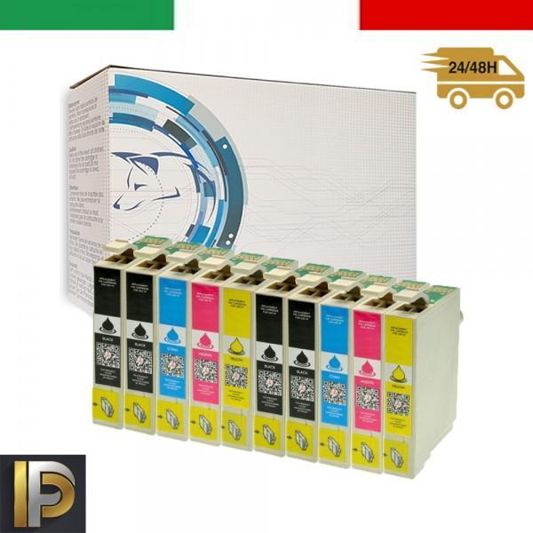 10 Cartucce Epson  T0715   Compatibili