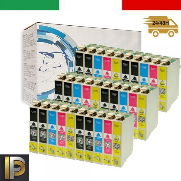 30 Cartucce Epson  T0715 0  Compatibili