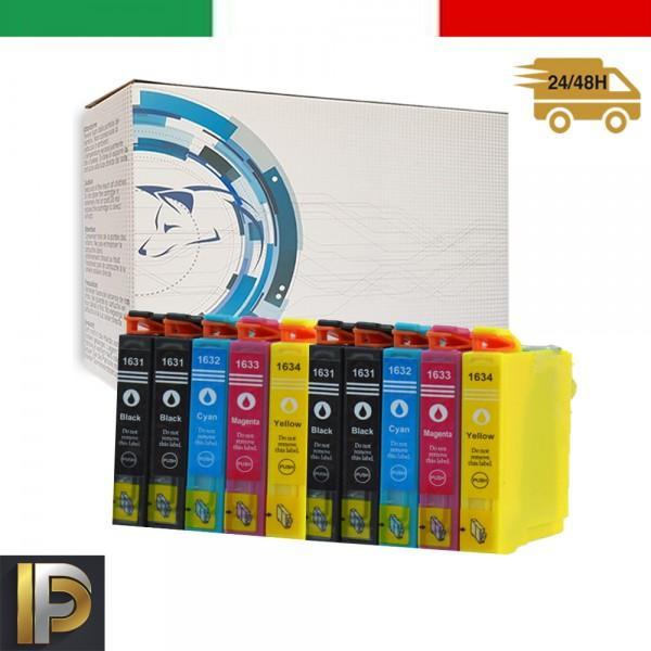 10 Cartucce Epson WorkForce  PFT1636   Compatibili