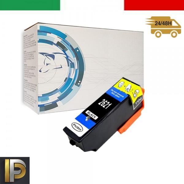 Cartuccia Epson  T2621 Nero Compatibile