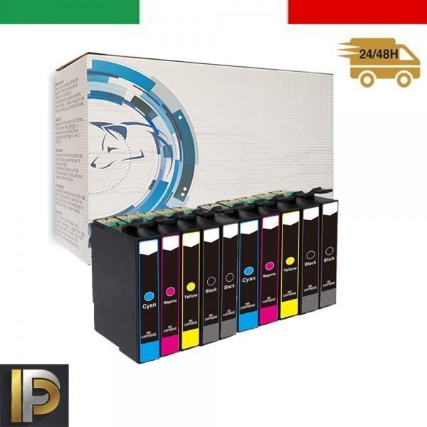 10 Cartucce Epson  T0615   Compatibile