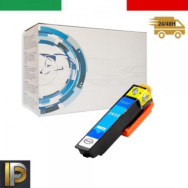 Cartuccia Epson  T2632 Ciano Compatibile