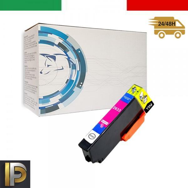 Cartuccia Epson  T2633 Magenta Compatibile