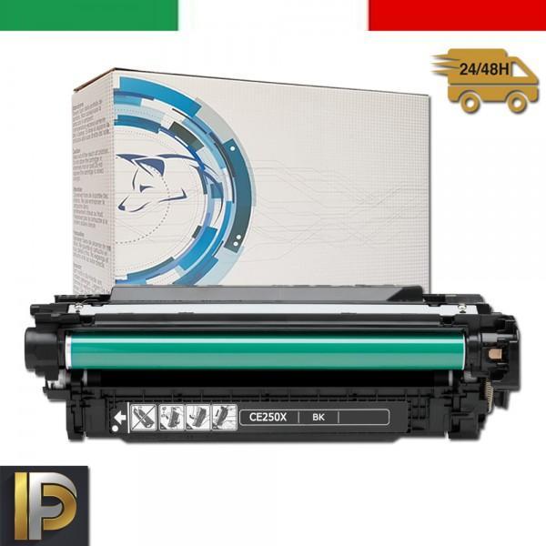 Toner Hp Laserjet  CE250X  Nero Compatibile