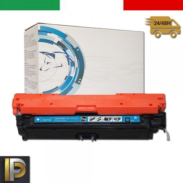 Toner Hp Laserjet  CE271A Ciano Compatibile