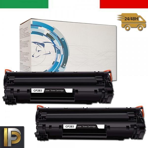 2 Toner Hp CF283A   Compatibili