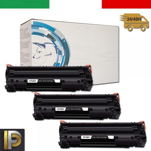 3 Toner Hp CF283A   Compatibili
