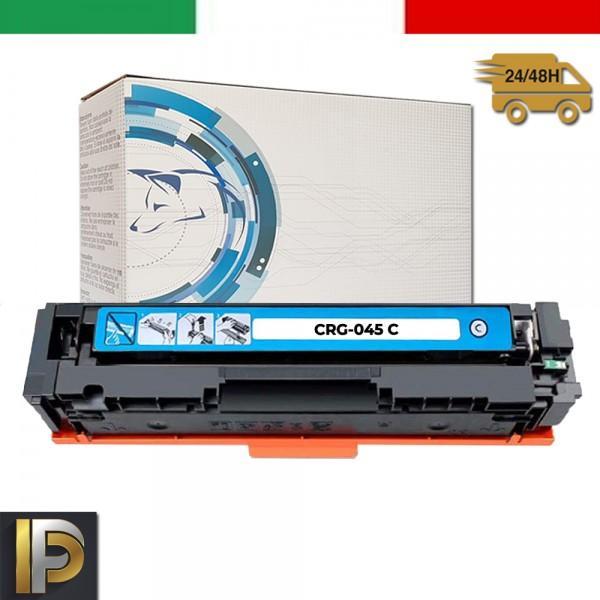 Toner Canon CRG-045H-C Ciano Compatibile