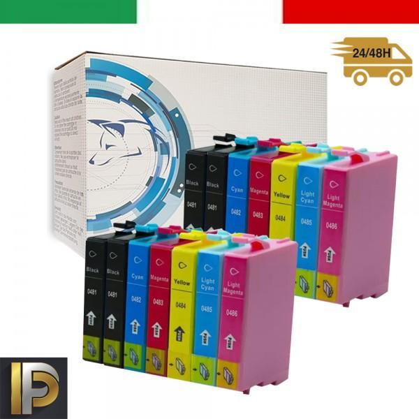 14 Cartuccia Epson Stylus  T0487-KIT14  Compatibile