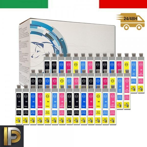 42 Cartucce Epson  T0807 2  Compatibili
