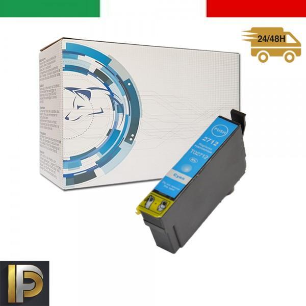 Cartuccia Epson WorkForce  T2712 Ciano Compatibile