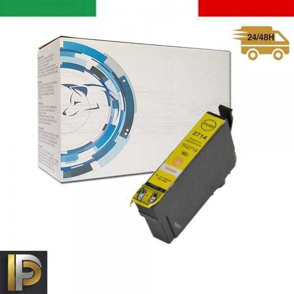 Cartuccia Epson WorkForce  T2714 Giallo Compatibile