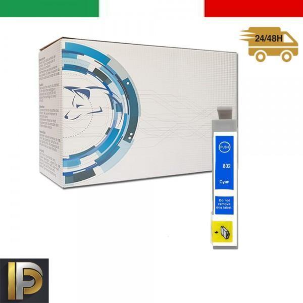 Cartuccia Epson Stylus  T0802 Ciano Compatibile