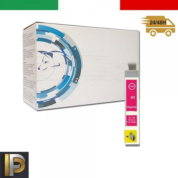 Cartuccia Epson Stylus  T0803 Magenta Compatibile