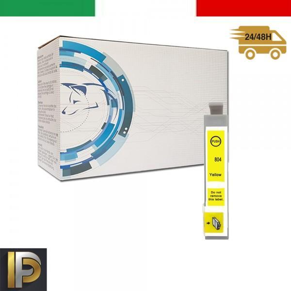 Cartuccia Epson Stylus  T0804 Giallo Compatibile