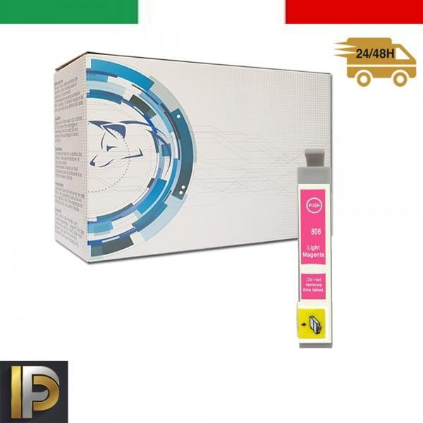 Cartuccia Epson  T0806 Magenta Compatibile